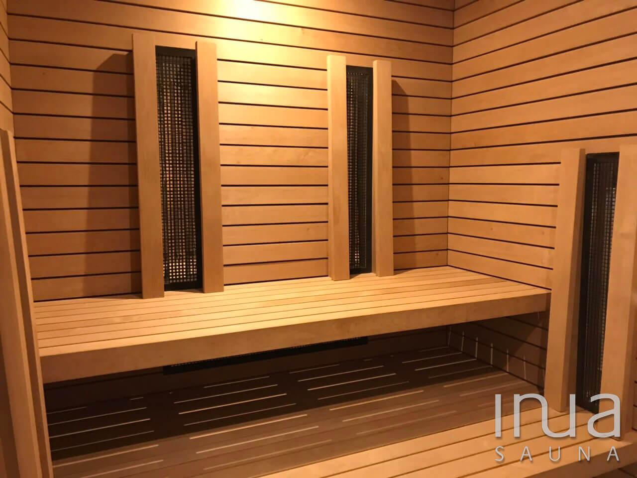 Fafélék szaunaépítéshez - Thermowood finn rezgőnyárfa Inua burkolat