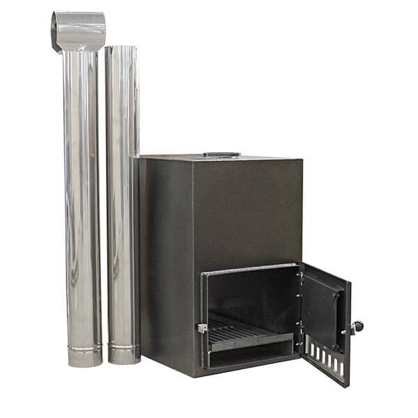 35 kW-os Aluminium külső kályha