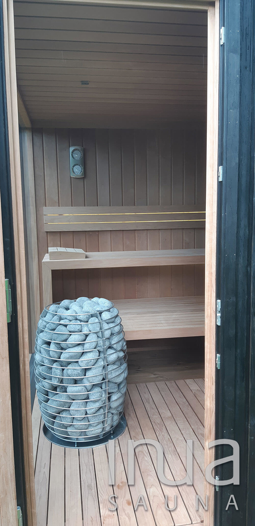Újabb Inua Baldur finn szauna került letelepítésre Dániában.