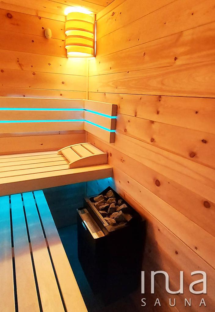 A kabin mérete 2,3x1,5 méter.