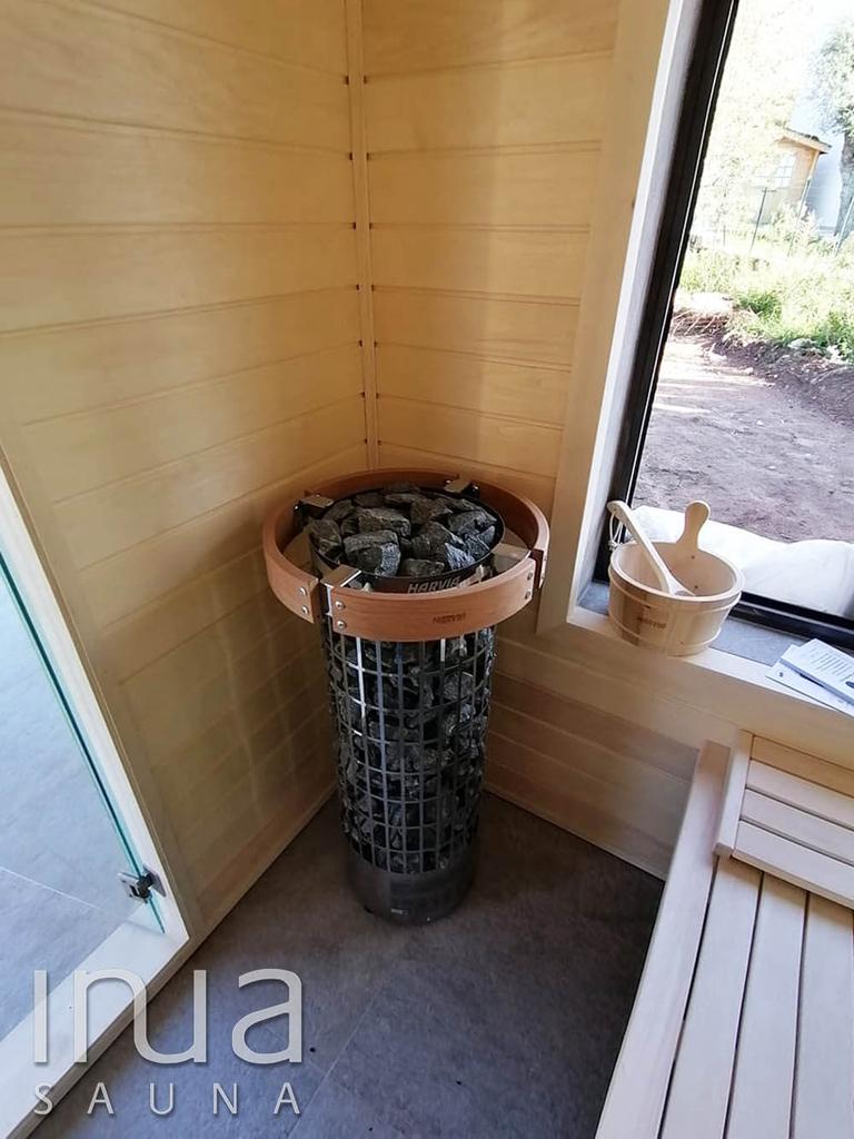 Egy igazán különleges beltéri finn szauna került telepítésre.