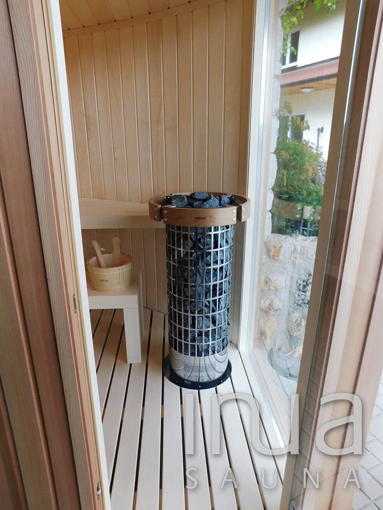 Egyedi gyártású kültéri kombinált szauna, vitárium